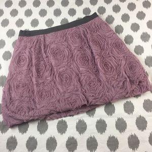 J. Crew Tulle Rose Mini Skirt Size 4 Bubble Floral